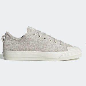 Adidas Nizza RF White Suede Sneakers 10 NWT